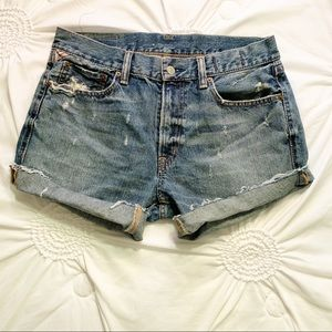Ralph Lauren Denim & Supply cut off jean shorts